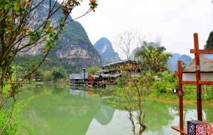 【崇左图片】明仕田园----一幅绝美的山水画卷