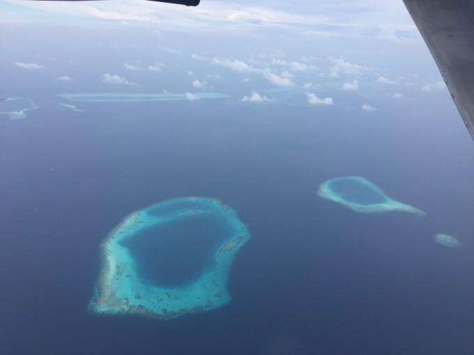 马尔代夫神仙珊瑚岛蜜月游