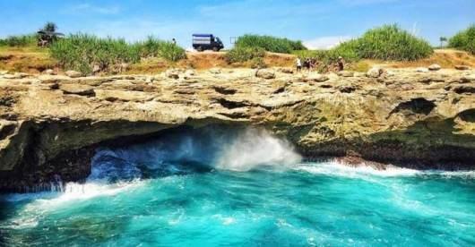 巴厘岛蓝梦岛一日游 海底漫步 浮潜 海上滑梯 独木舟