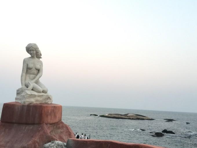 带着宝宝去旅行之16-汕尾红海湾(遮浪南海观世音,风车