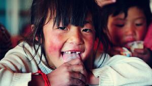 白马雪山下的藏族小学