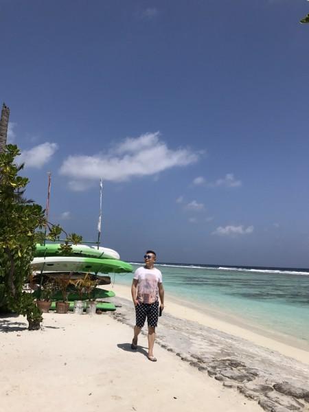 我心中的那一片蓝----马尔代夫神仙瑚瑚岛
