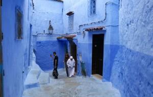 【摩洛哥图片】北非魅影—走入童话般的蓝白小镇《舍夫沙万》