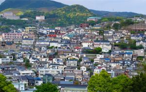 【长崎市图片】三入九州-紫藤盛花期的长崎与小仓-看花撸猫两不误
