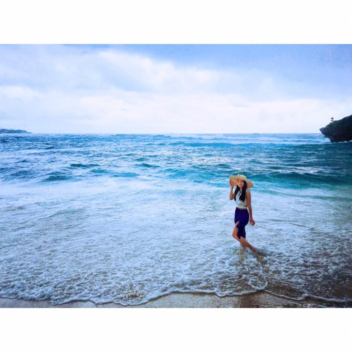 海边摄影,女生应当穿甚么能力美出新高度?