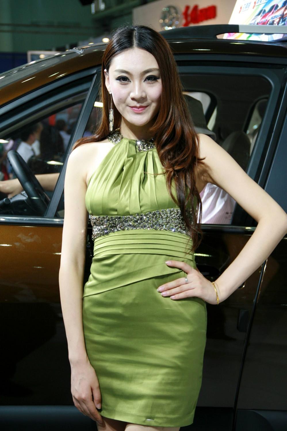 2012武汉华中车展模特