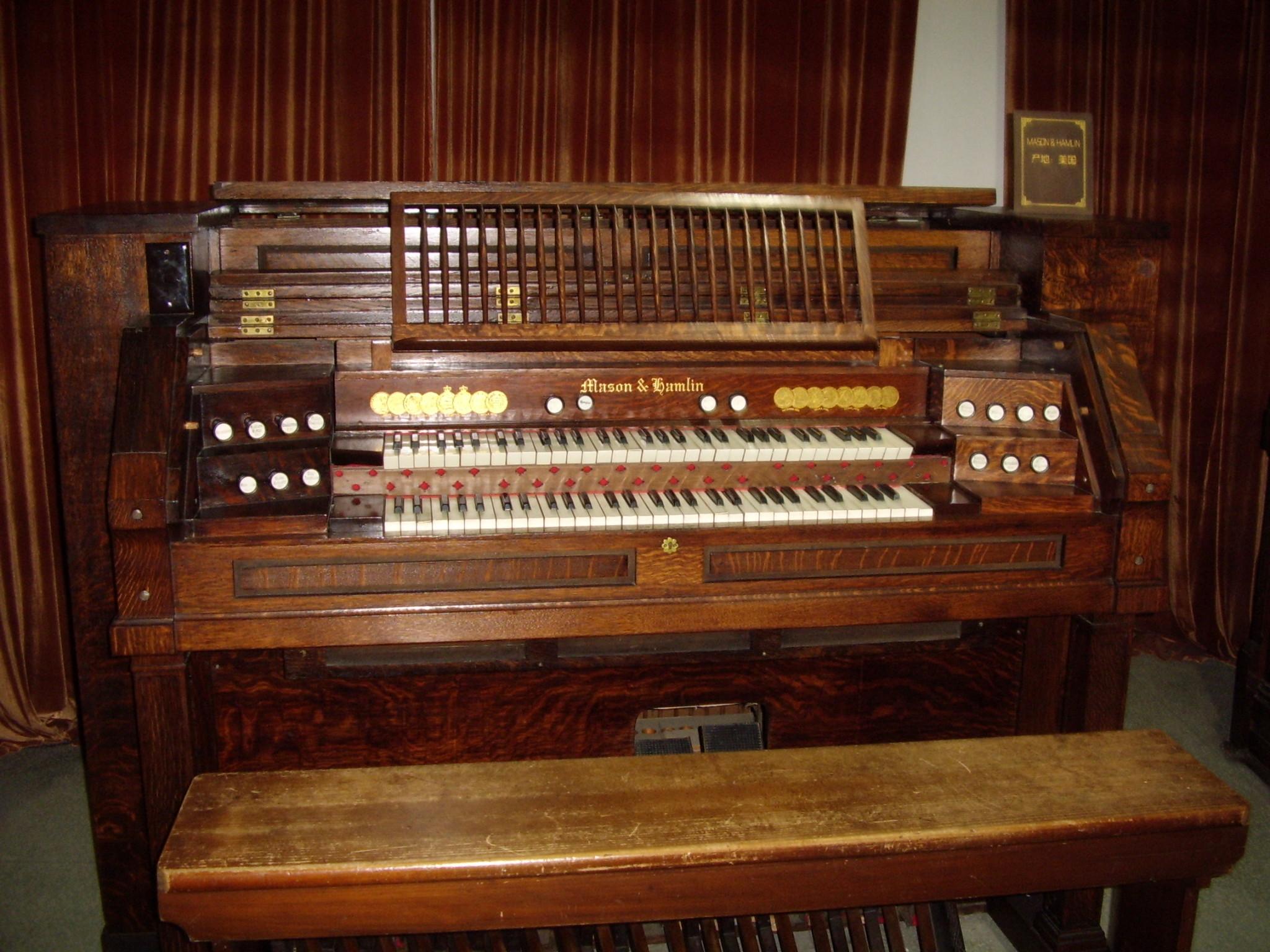 鼓浪屿的风琴博物馆图片