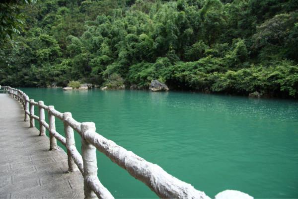 下午:大七孔风景区(50元,淘宝预订)大七孔景区以峡谷为奇.