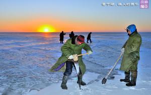 【吉林图片】【渔人的搏斗】- 吉林查干湖 零下20度 冬捕激战 (2014/12/25 蜂首纪念)