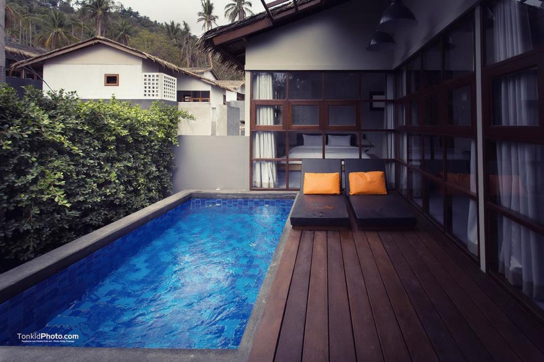 班塔莱泳池别墅度假村