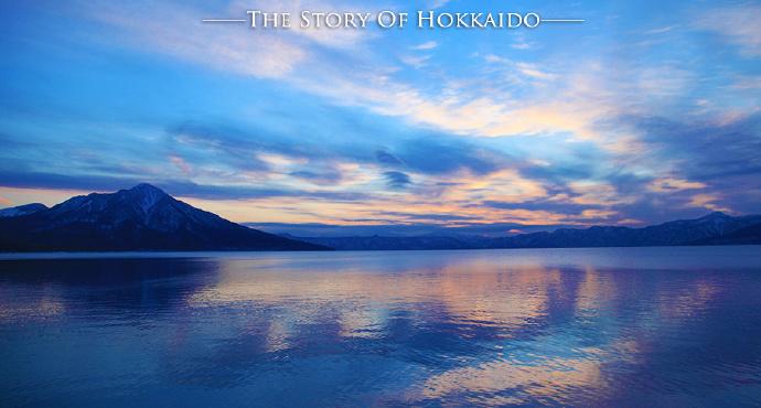 支笏湖是北海道第一大湖,也是日本最北的