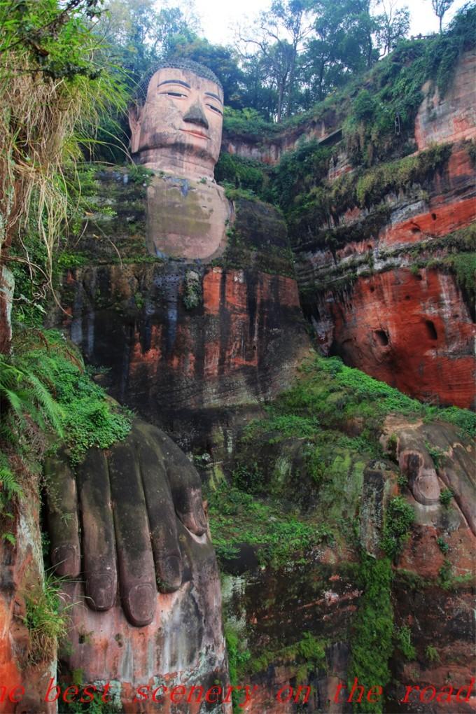 最美的风景在路上——都江堰,峨眉,乐山的记忆