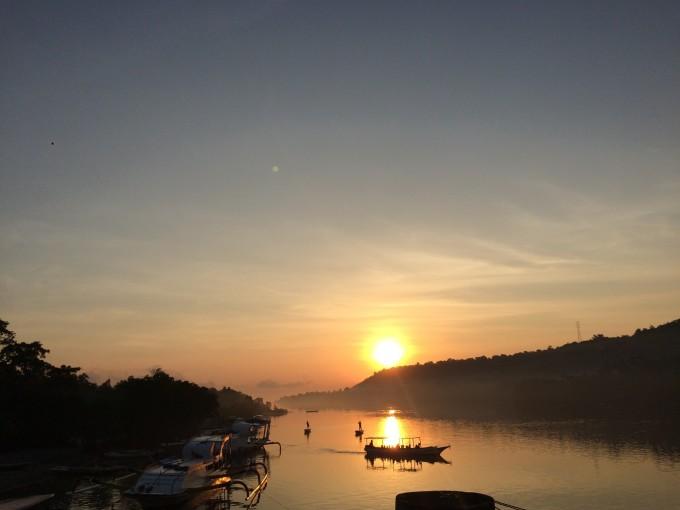 微信夏季早晨风景照