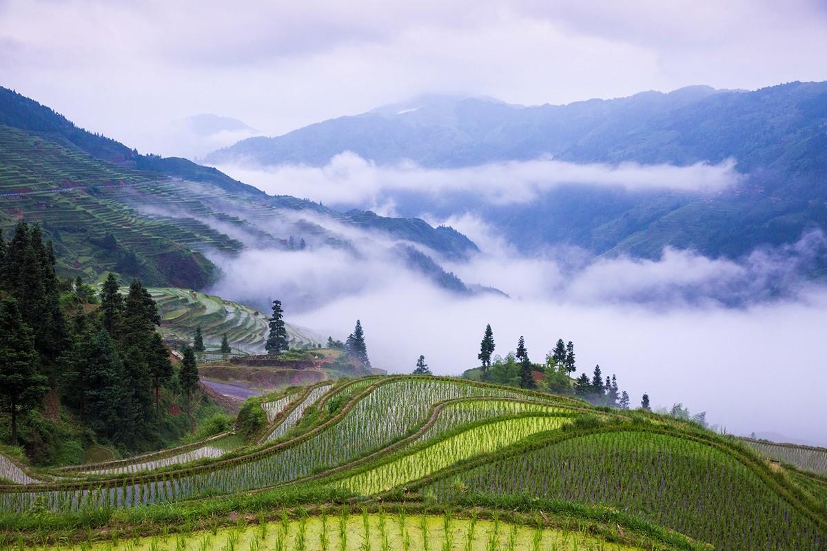 少数民族风景黔东南-少数民族风景