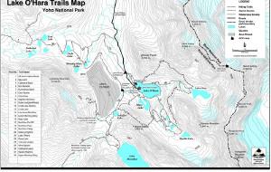 【加拿大落基山国家公园群图片】2015秋Lake O'hara Lake Ohara欧哈拉湖奇幻徒步抵达Lake Oesa