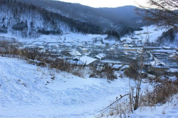 东北雪景生活照