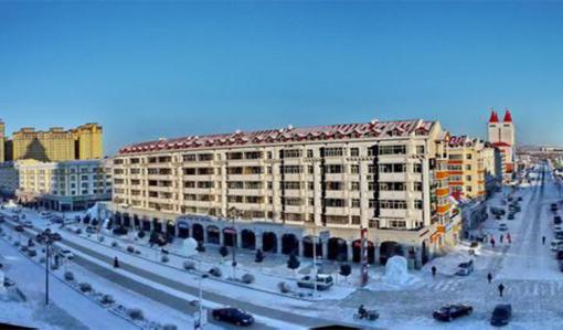 冰雪欧式公园建筑