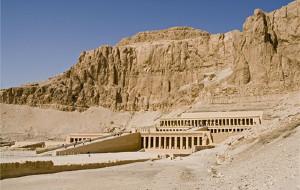 【埃及图片】古老的建筑杰作——哈特谢普苏特神庙