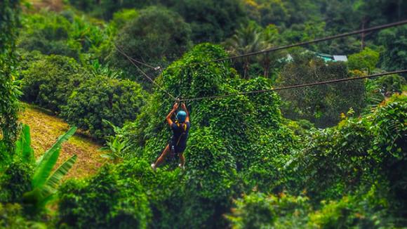 芭提雅树顶冒险园门票(丛林飞跃冒险26平台)15561