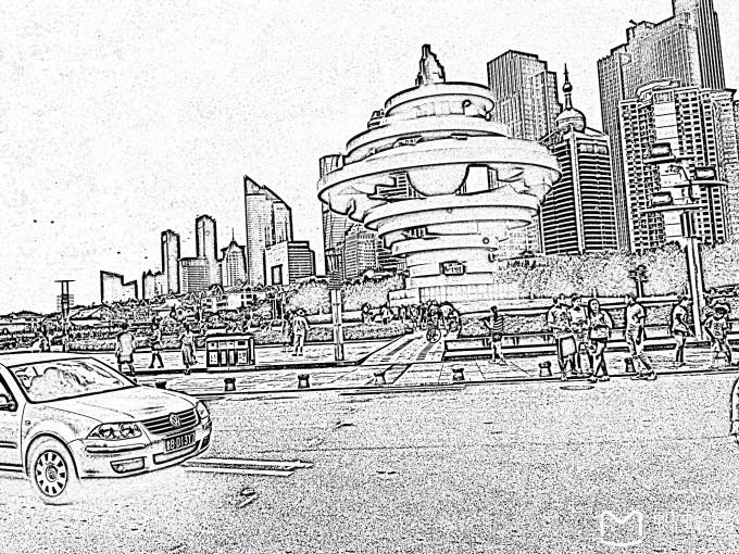 五四广场:五月风,听说是青岛的标志性建筑,五四广场毗邻奥帆中心.