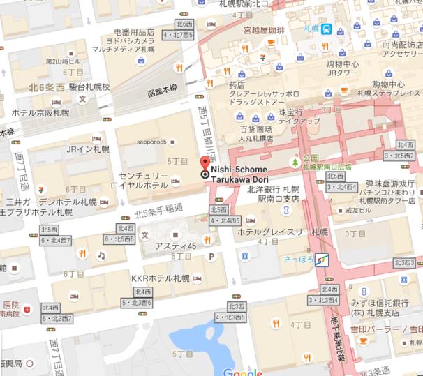 札幌巴士线路图