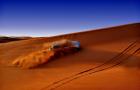 【刺激到飞起】迪拜 沙漠冲沙之旅(丰田/路虎可选+滑沙+肚皮舞+烧烤)