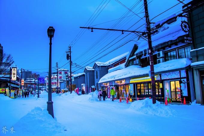 北海道邂逅美女小夏_芥末的旅行摄 —— 白色恋人 の 北海道