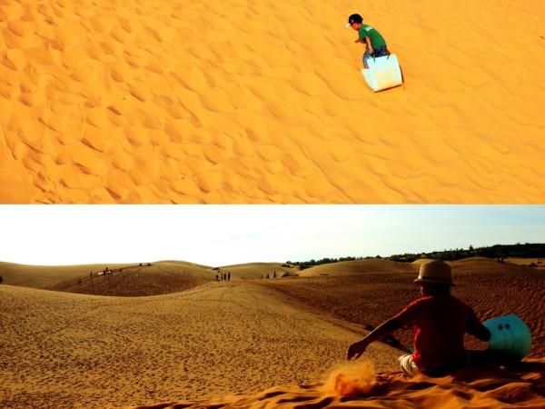 沙漠石滩简笔画