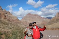 北美之旅...乘汽艇游科罗拉多大峡谷河
