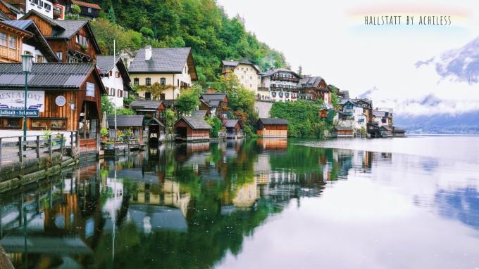 最美小镇风景图