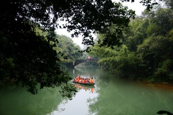 """广东""""小桂林""""——英德九龙镇一游"""