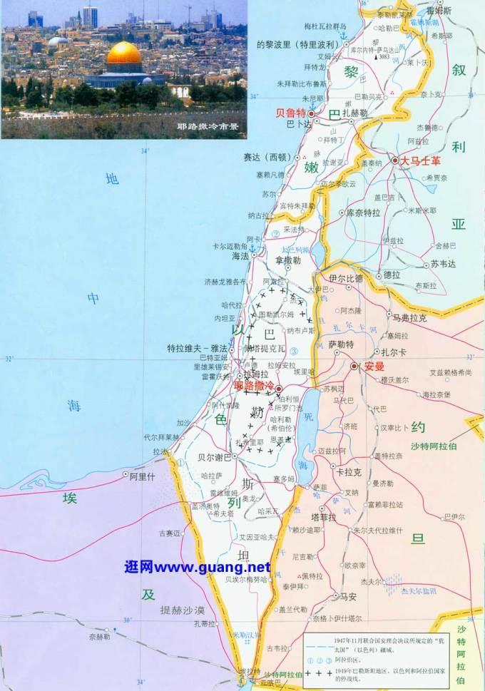 神秘的国度以色列地处亚非欧三大洲交界,红海与地中海汇集