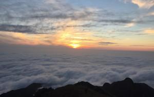 【资兴图片】2015年12月31日登顶八面山,迎接2016年的第一缕阳光!