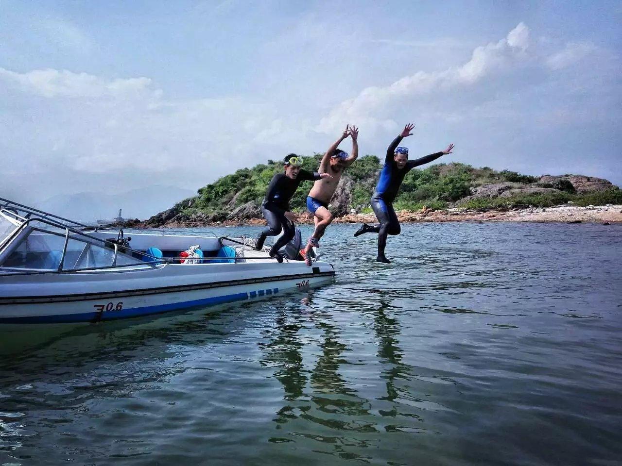 大亚湾鹅洲岛潜水露营手记