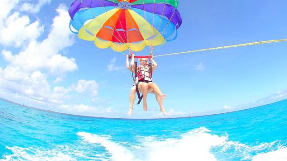 长滩岛拖曳伞体验(含英文导游,2人起订)18693