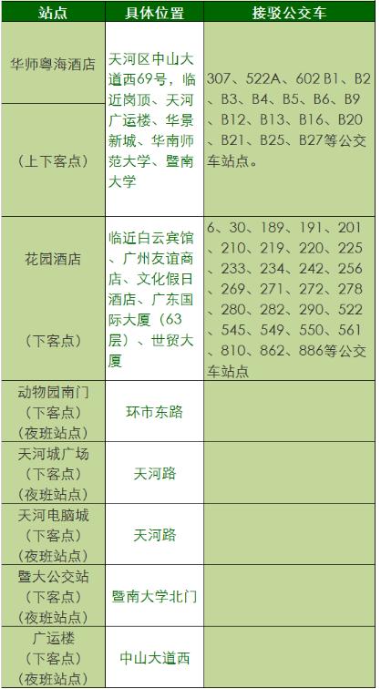 武汉机场大巴时刻表_广州白云机场快线时刻表