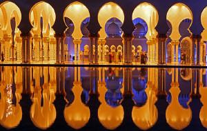 【阿布扎比图片】【阿联酋】建筑欣赏-谢赫扎耶德大清真寺