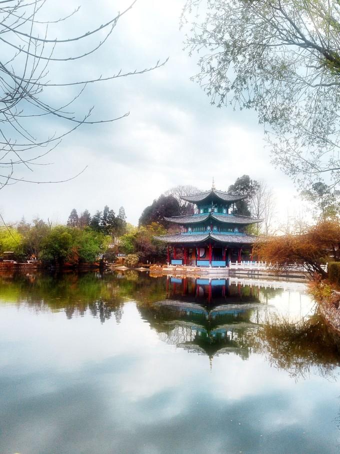 丽江风景竖屏公园